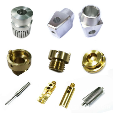 Brass precision parts 4 axis machining