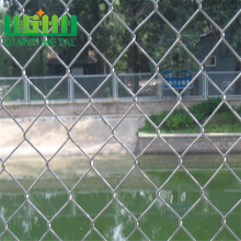 Decorative 18 Electric Stainless Steel Chain Link Fence