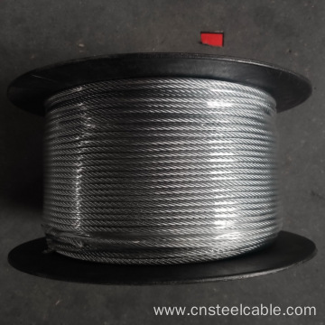 7x7 Dia.4mm Galvanized steel cable