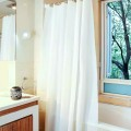 Shower Curtain PVC White Classic