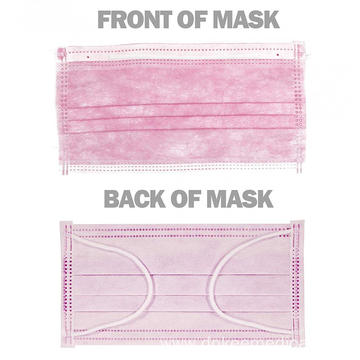 Disposable Earloop Face Masks Dust Protection 3-Layer Filter Face Masks