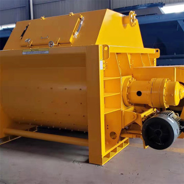 JS twin shaft forced 1m3 mixer