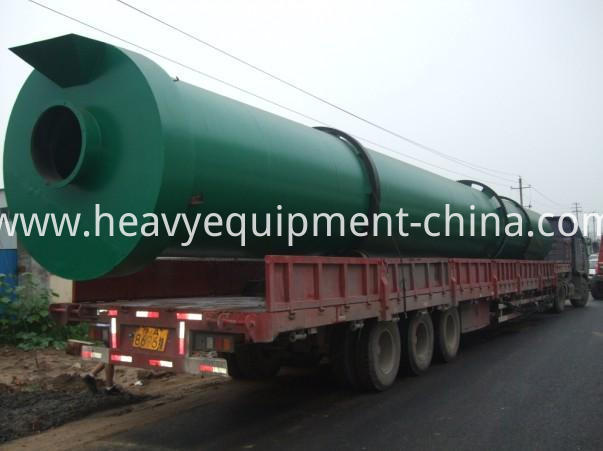 Electric rotary dryer