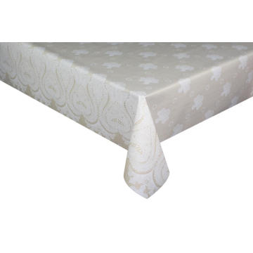 Elegant Tablecloth with Non woven backing Beyond