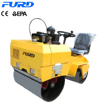 Mini Road Roller Hydraulic Double Drum Vibratory Roller FYL-855