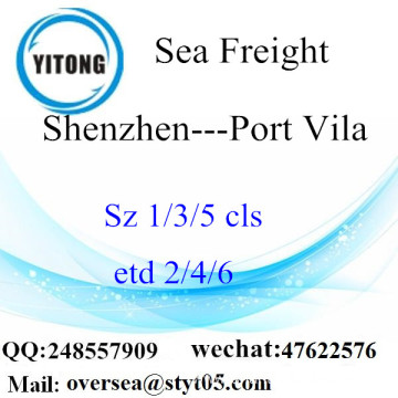 Shenzhen Port LCL Consolidation To Port Vila