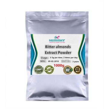 1000g Pure Bitter almond,Semen Armeniacae Amarum with 3% amygdalin,Bitter apricot kernel extract powder for Anti-inflammatory