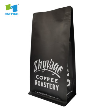 reusable aluminum foil drip coffee bag with valve
