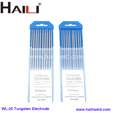 2.4MMx175MM 2% Lanthanated Tungsten Electrode