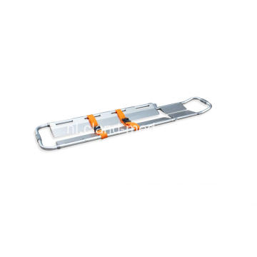 Uitschuifbare en opvouwbare EHBO Ambulance Medical Scoop Stretchers