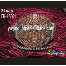 Custom Solid Rhinestone Pageant Tiaras