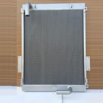137-5793 E320B aluminum excavator hydraulic oil cooler tank