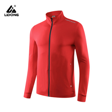 Men's Running Jacket Red