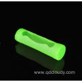 silicone 18650 singl battery  case with Logo