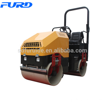 1.5ton Hydraulic Pump Mini Vibrating Road Roller Machine (FYL-900)