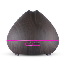 400ml Ultrasonic Diffuser LED Wood Grain Aromatherapy