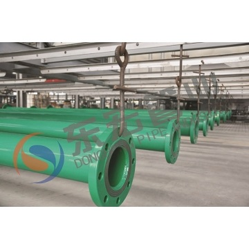PE steel composite pipe