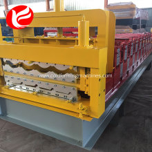 High quality double deck  roof forming machine