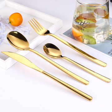 Logo Custom Stainless Steel Wedding Hotel Cutlery