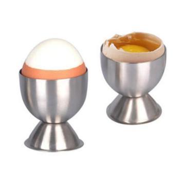 4pcs/set Egg Holder, Stainless Steel Soft Boiled Egg Cups Holder Stander, Egg Stand Storage Dishwasher Safe Egg Tools