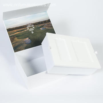 Book Shape Paper Packaging Gift Boxes with Insert