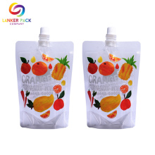 BRC Custom Stand Up Spout Juice Packaging Bag