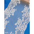 24cm Flowers Stretch Broad Lace Trim for Lingerie