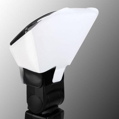Universal Speedlight Flash Diffuser/Softbox Honeycomb Grid&Tri-Color Reflector Free Shipping