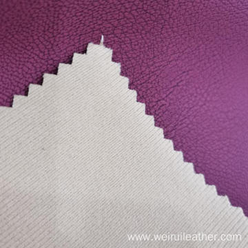 Two-tone Raffy Leather PU Artificial Leather