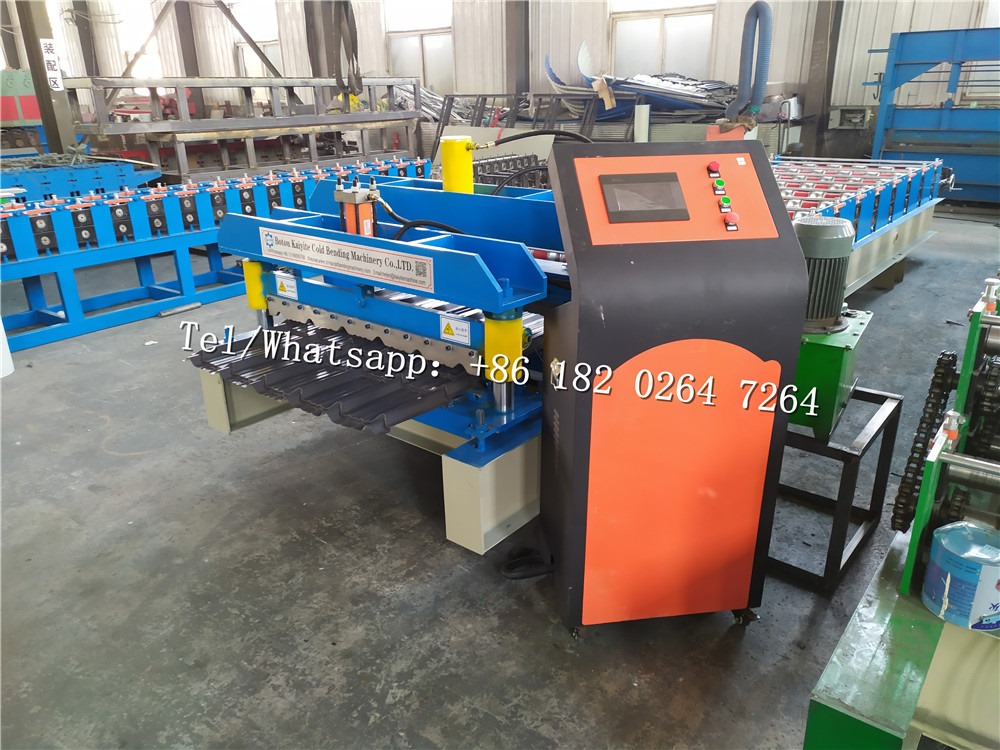 Roof Tile Rolling Machine