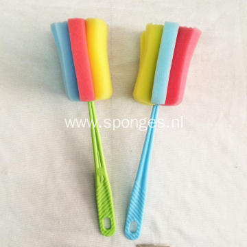 Bottle cleaning brush handle household item