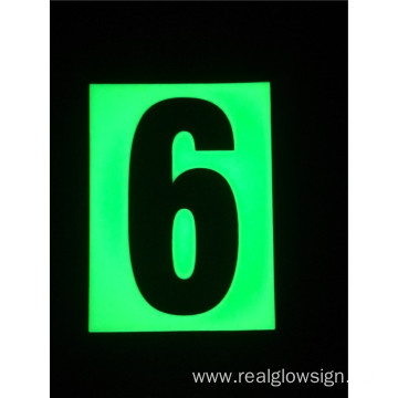 Realglow Photoluminescent  Flat Number 6