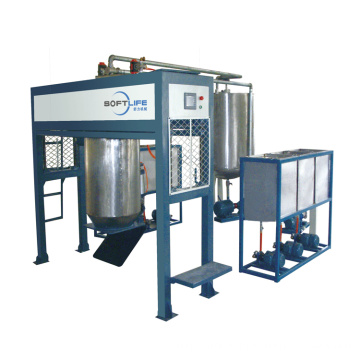 AUTOMATIC BATCHING FOAM MAKING MACHINE