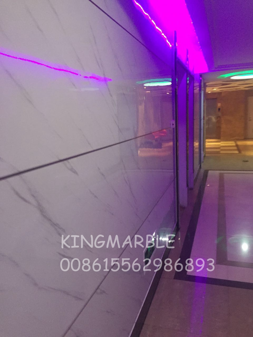 New Decoration Materials Eco Pvc Marble Panel