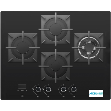 Panel Cooking White Colour Hob