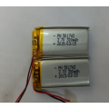 Li Poly Rechargeable Battery 3.7V 300mAh (LP1x4T5)