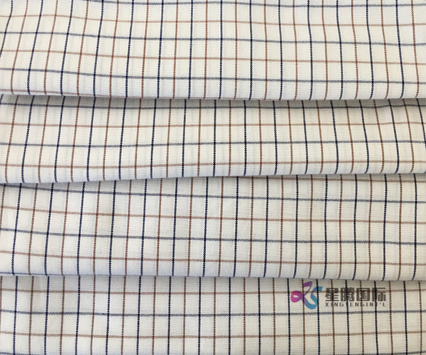Cotton Check Plaid Shirts Fabric