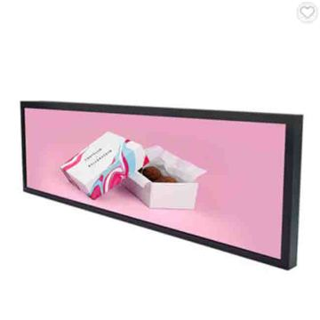 37inch ultra wide stretched bar lcd display monitor