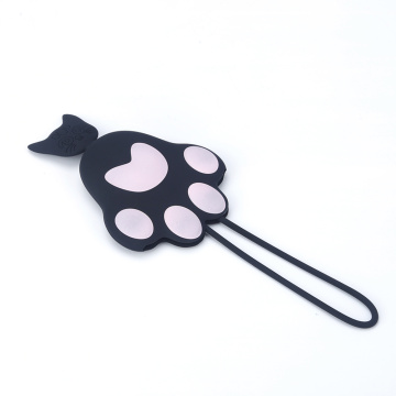 2018 Cheap silicone cat paw car key cover