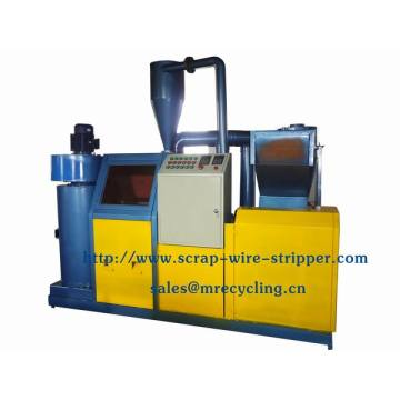 scrap copper cable wire slitter