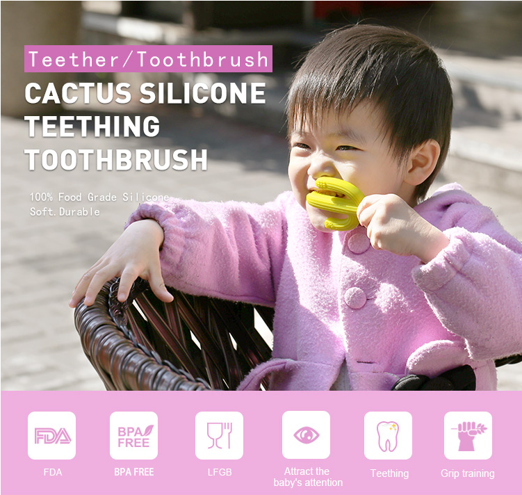 new design silicone toothbrush