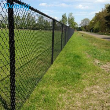 50*50mm Zinc Coated Wholesale Chain Link Fence