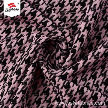 Hard-wearing Polyester Printed Jacquard Fabric