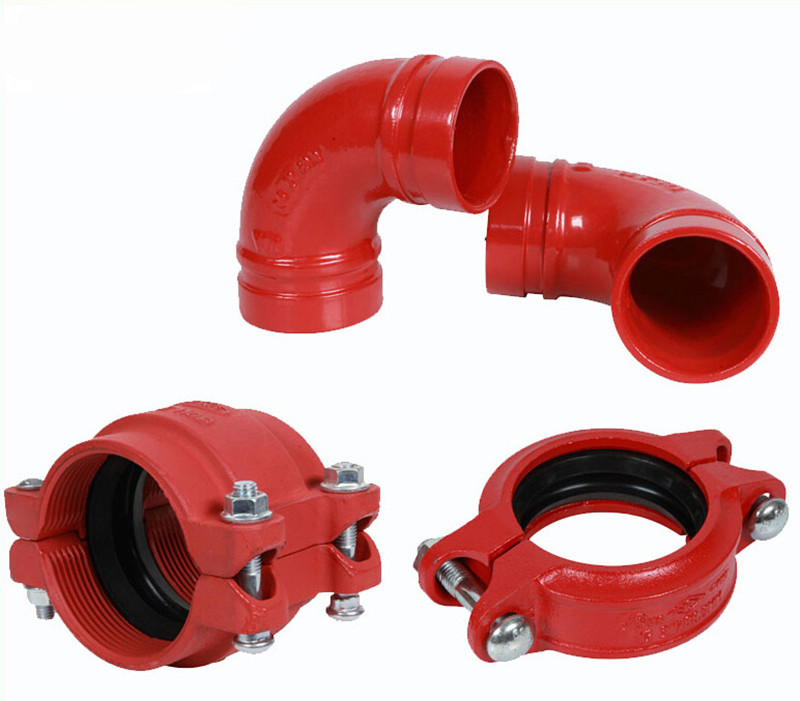 ductile iron grooved coupling