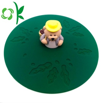Premium Silicone Cup Lids for Coffee Cup Cover