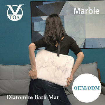 Hot selling New Product Marble Diatomite Bath Mat