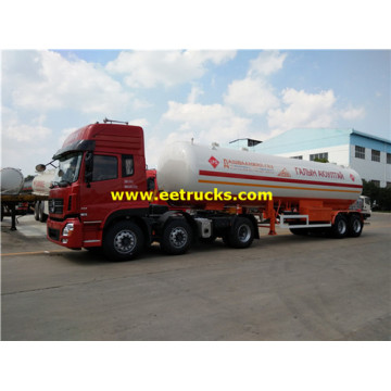 40m3 2 Axles LPG Transportation Tank Trailers