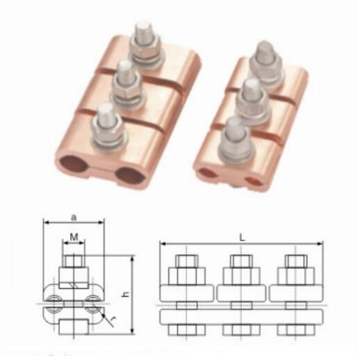 JBT Copper Parallel Groove Clamps