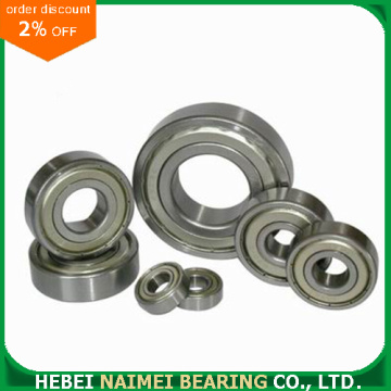 Single Row Deep Groove Ball Bearing 6003zz