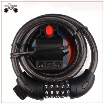 Hot sale anti-theft mountain bike lock wire bicycle lock